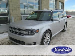 2014 Ford Flex Limited 3.5L V6, LEATHER, NAV, BACKUP CAM