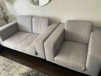 Comfortable Sofa + Amrchair from David Philips