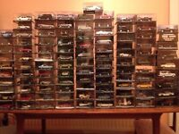 Collection of James Bond 007 Cars scale 1:43 numbers 1-101 with correspondent magazines