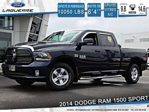 2014 Ram 1500 **SPORT*AUTOMATIQUE*CAMERA*CRUISE*A/C**