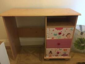 Girls desk/ dressing table