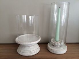 A pair of 2 French Candlestick