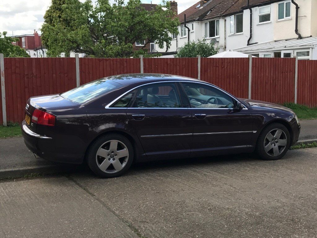 audi a8 d3 3 7 v8 quattro in morden london gumtree. Black Bedroom Furniture Sets. Home Design Ideas