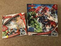 Avengers jigsaws and mini pop up game