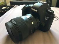 Canon 6D & Sigma 35mm 1.4 Art Lens