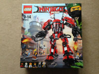 LEGO NINJAGO Fire Mech 70615 brand new and sealed