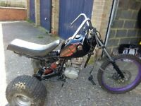 Trike project unfinished 125cc engine and parts collected only Haverhill