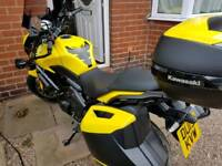 2015 Kawasaki Versys 650 GT ABS Yellow