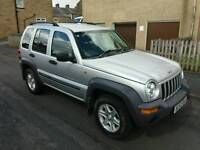 2004 Jeep Cheroke 2.8 CRD 4x4 Chrysler Spares or Repair