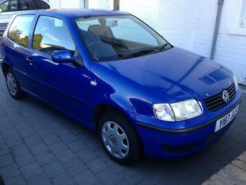 Volkswagon Polo 1.0, Y-reg, Blue, Motd And Taxed.