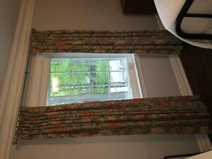 Custom draperies/curtains