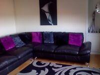 Large corner suite sofa