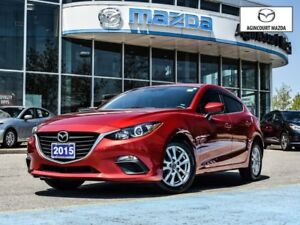 2015 Mazda MAZDA3 SPORT GS-Heated Seats, Tints, Bluetooth, Back