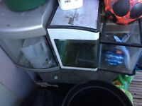 3 fish tanks (£20)