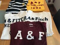 abercrombie and finch mens small teeshirts and tops