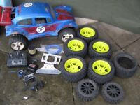 FG Marder/beetle plus some bits, petrol r/c