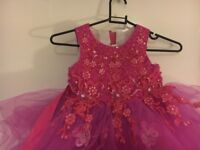 BEAUTIFULLY DESIGNED BRAND NEW GIRLS PINK FROCK FOR SALE!!!!!!!