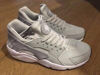 Nike Huarache Hurache Trainers Silver/Grey Brand New SIze Womens UK5.5