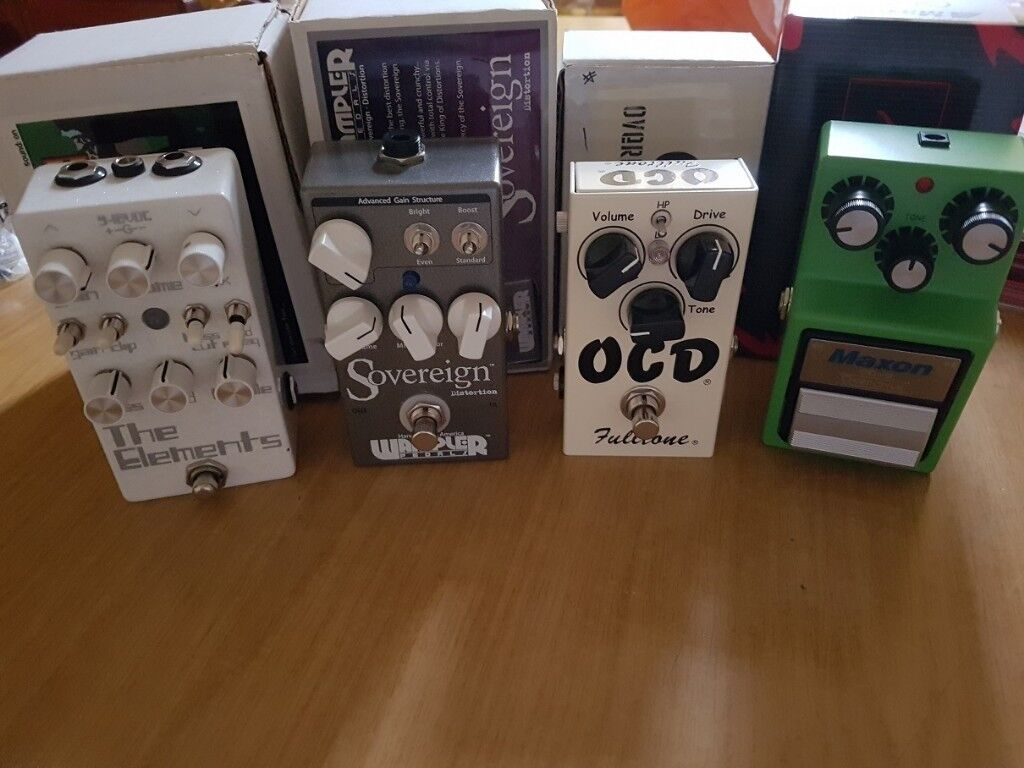 Wampler Sovereign, Dr Scientist The Elements, Fulltone OCD, Maxon OD9  Overdrive & Distortion Pedals | in Sheffield, South Yorkshire | Gumtree