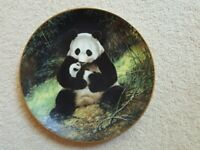 Last of Their Kind Collector Plate The Panda by Will Nelson 1988