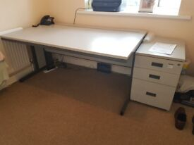Office Desk & Cabinet For Sale £40