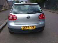 2008 ((Volkswagen Golf)) Petrol 1.6 MOT TILL February EXCELLENT CONDITION Throughout Ideal First Car