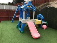 Little Tykes Outdoor Swing and Slide