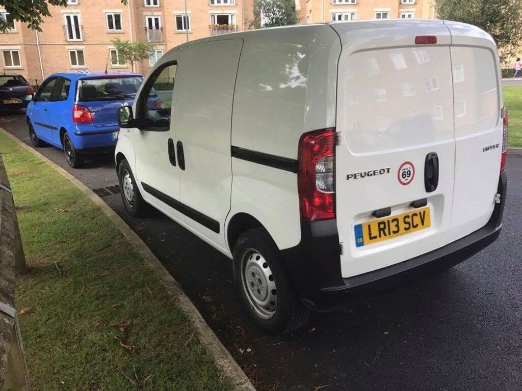 13 plate peugeot blipper 1.3 hdi mot march new engine with proof
