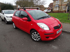 TOYOTA YARIS TR 1.3, 5 door, Manual, Hatchback, Petrol, Chilly Red, very reliable