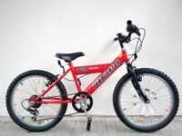 "FREE Lights with (2666) 20"" CONCEPT BOYS GIRLS MOUNTAIN BIKE BICYCLE; Age: 7-10; Height: 125-140 cm"