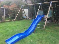 TP Climbing Frame, Swings & Slide