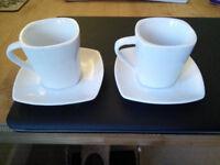 2 new espresso cups