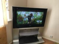 """37"""" Panasonic TV looking for a new home."""