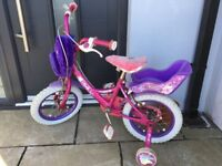 "Girls Raleigh 'Molly' bike 14"""