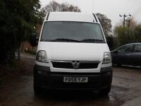 VAUXHALL MOVANO 3500 CDTI MWB 2010 ONE OWNER DIRECT FROM WATER BOARD