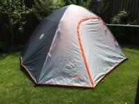 Coleman 5 Person instant up dome tent.