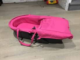 Pink Stokke Xplory Baby Carrycot - like new!!