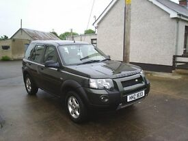 05 LAND ROVER FREELANDER 2.0 TD4, 5DOOR, GOOD CONDITION