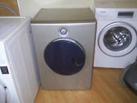 INDESIT MOON washing machine in silver , used / reconditioned