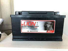 Lion Battery Car Battery - TYPE 110