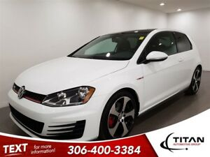 2015 Volkswagen GTI Bluetooth|Sunroof|Htdseats|Alloys