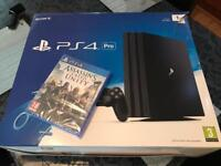 Sony PS4 PRO 1tb with brand new game