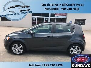 2016 Chevrolet Sonic TURBO,AC, CRUISE, HANDS FREE, BACK UP CAM