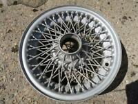 Two Wire wheels for jaguar e type series 3 for sale  Aberdeen