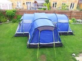 Kalahari 10 large tent, porch, footprint & carpet