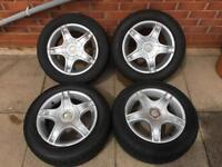 Mangels 4x Alloy Wheels Set 5x100