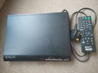 Barely used Sony DVD player with remote £20.