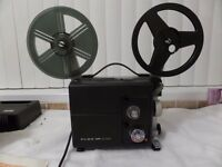 FOR SALE - ELMO VP-D100 SILENT CINE PROJECTOR (BOXED) WITH ACCESSORIES