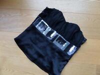 Corsage in schwarz mit Pailletten Gr. 34 XS Nordrhein-Westfalen - Hamm Vorschau