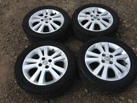 "Vauxhall Astra / Corsa 16"" alloy wheels - good tyres"